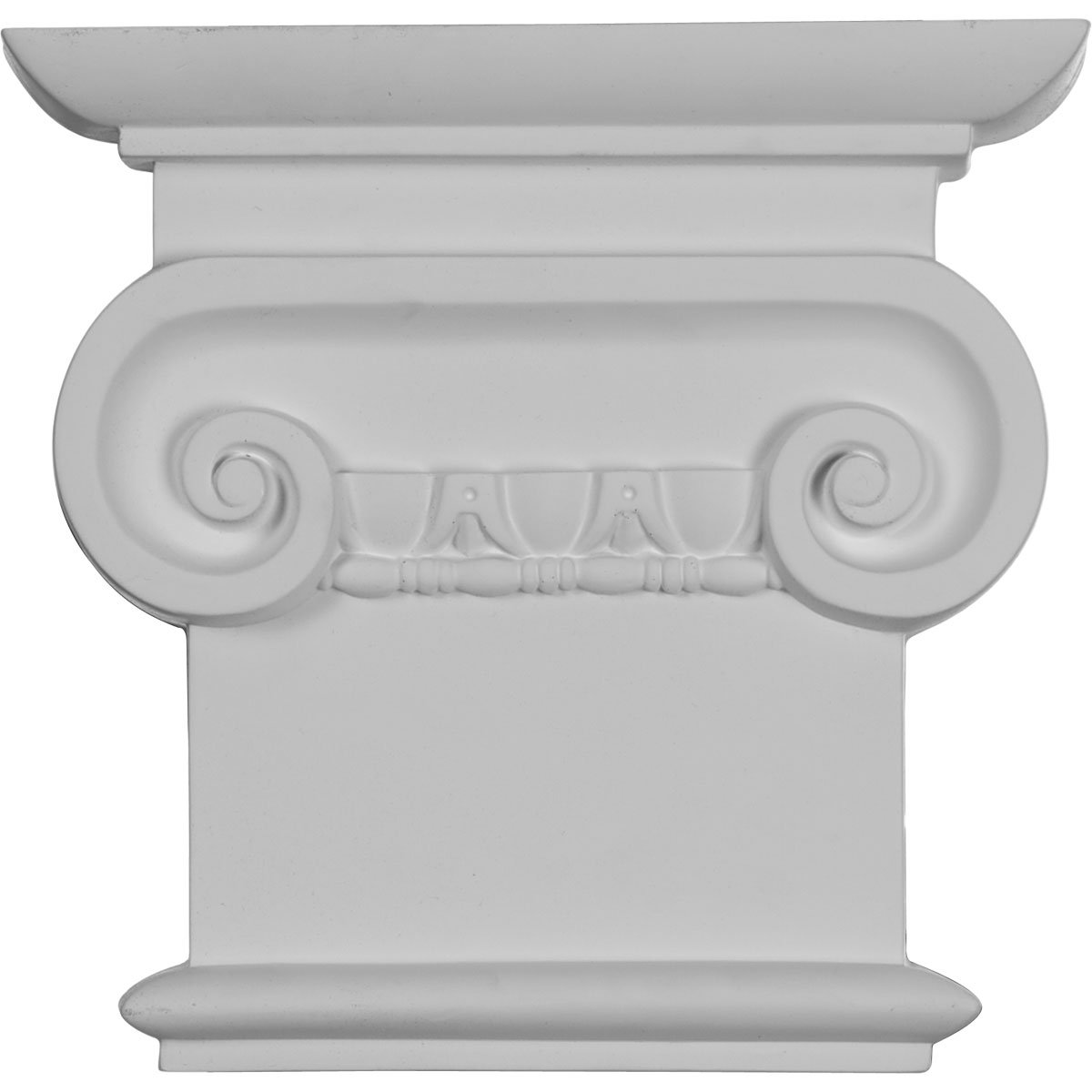 Ekena Millwork CAP08X07X02CL  8 1//4-Inch W x 7 7//8-Inch H Classic Ionic Capital