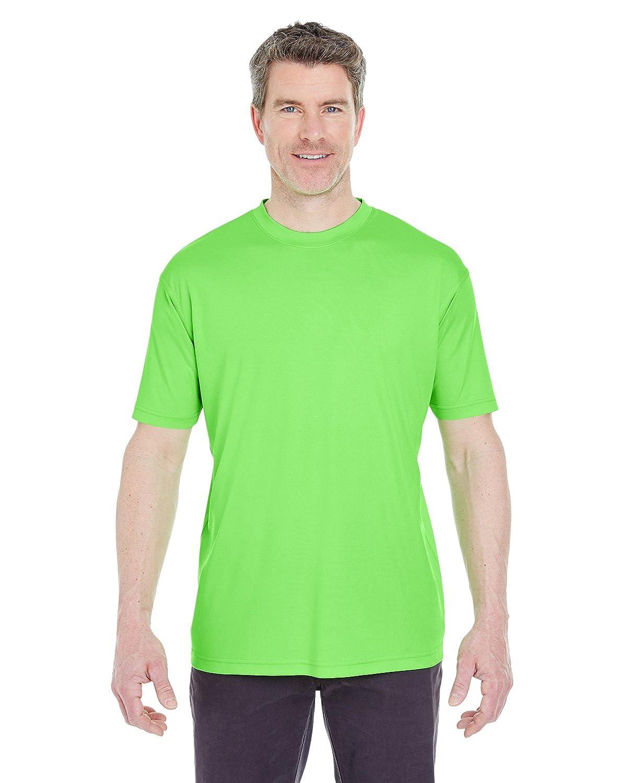 8420 UltraClub Men's Cool & Dry Performance Interlock Crew T shirt