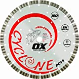 OX Tools 12'' Supercut Segmented Diamond Blade | Concrete/General Purpose | 1 - 20mm Bore