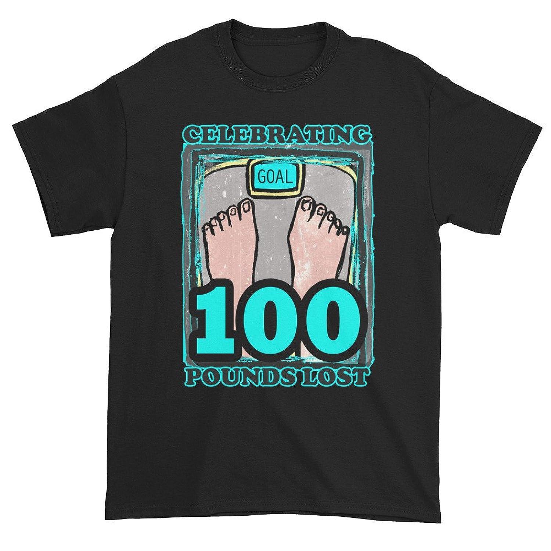 Celebrating 100 Pounds Lost Unisex Short sleeve t-shirt
