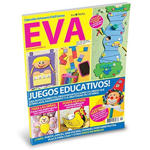 Pack Oferta 6 revistas de Goma Eva + 1 tela 50 * 50cm de regalo: Amazon.es: Hogar