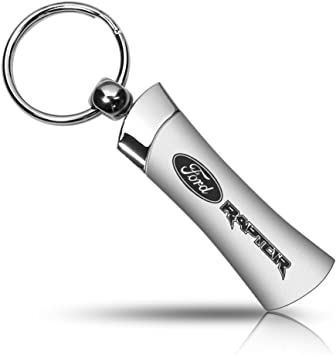 Ford F-150 Raptor Black Leather Key Chain Keychain Official Licensed