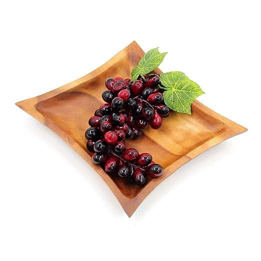 T-JMGP Plato de frutas Pelea de frutas Madera maciza ...