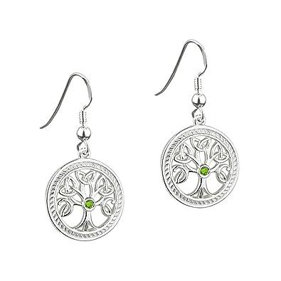 Amazon.com: Solvar Sterling Silver Irish Celtic Tree of Life ...