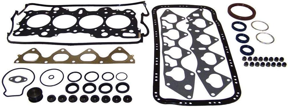 DNJ EK217AM Master Engine Rebuild Kit For 96-00 Honda Civic del Sol 1.6L DOHC
