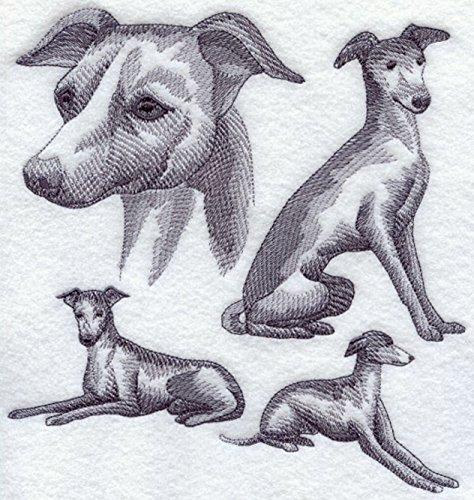Italian Greyhound Custom Embroidered Sweatshirt Shirt by SewUnusuals