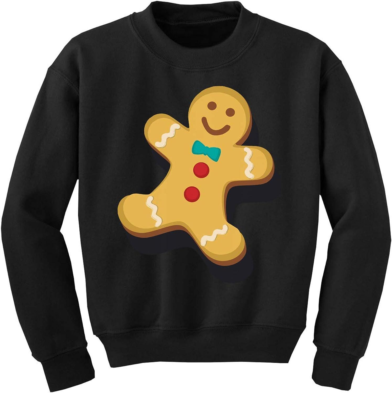 Awkward Styles Ugly Xmas Sweater for Boys Girls Kids Youth Christmas Gingerbread Sweatshirt