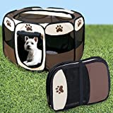JSNY Portable Doggie Play Pen, Small Size