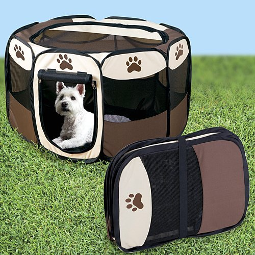 Portable Doggie Play Pen, Small Size by JSNY