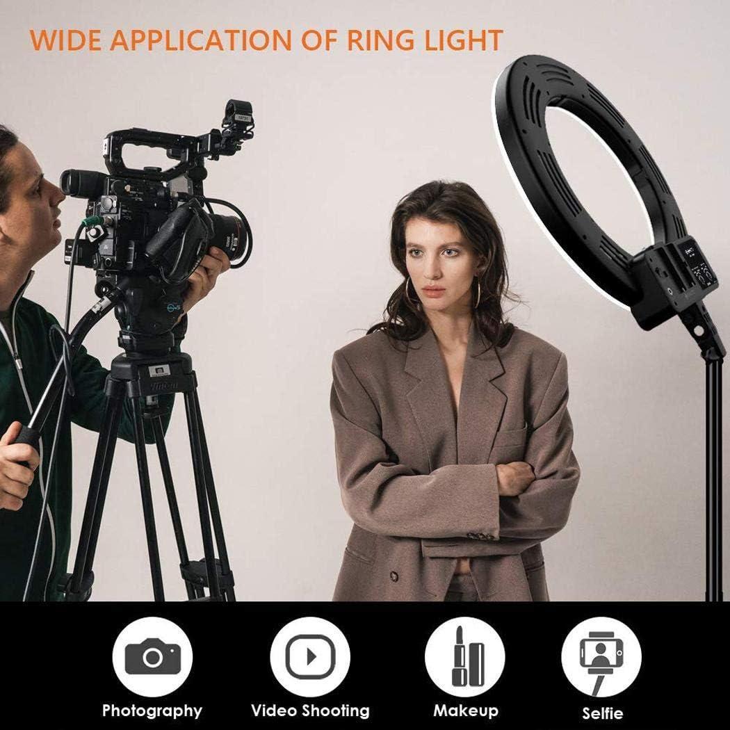 hevare Live Fill Light Mobile Phone Bracket LED Ring Shape Self-Timer Photography Macro /& Ringlight Flashes