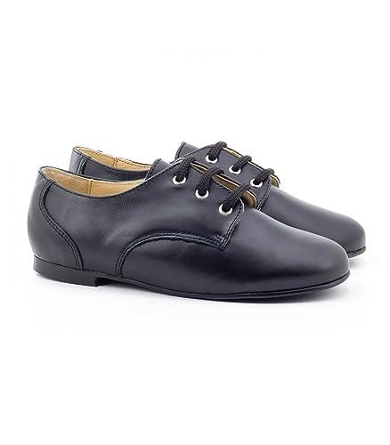 Boni Philippe - Festliche Schuhe für Jungen - 28, Marineblau Boni Classic Shoes