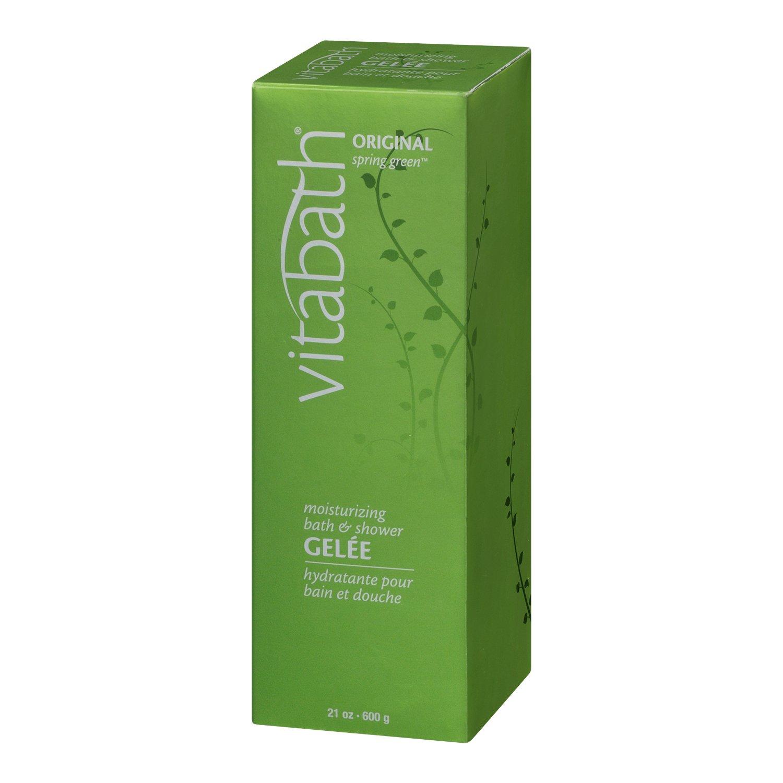 Amazon.com : Vitabath Moisturizing Bath Gelee, Original Spring Green ...