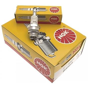 NGK BPMR7A 4620 RCJ6Y WSR5F SP114 - Caja de 10 bujías de Encendido: Amazon.es: Coche y moto