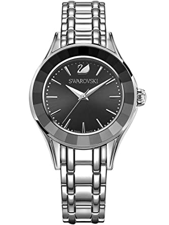 2597b4597 Amazon.com: Swarovski Alegria Watch, Black 5188844: Watches