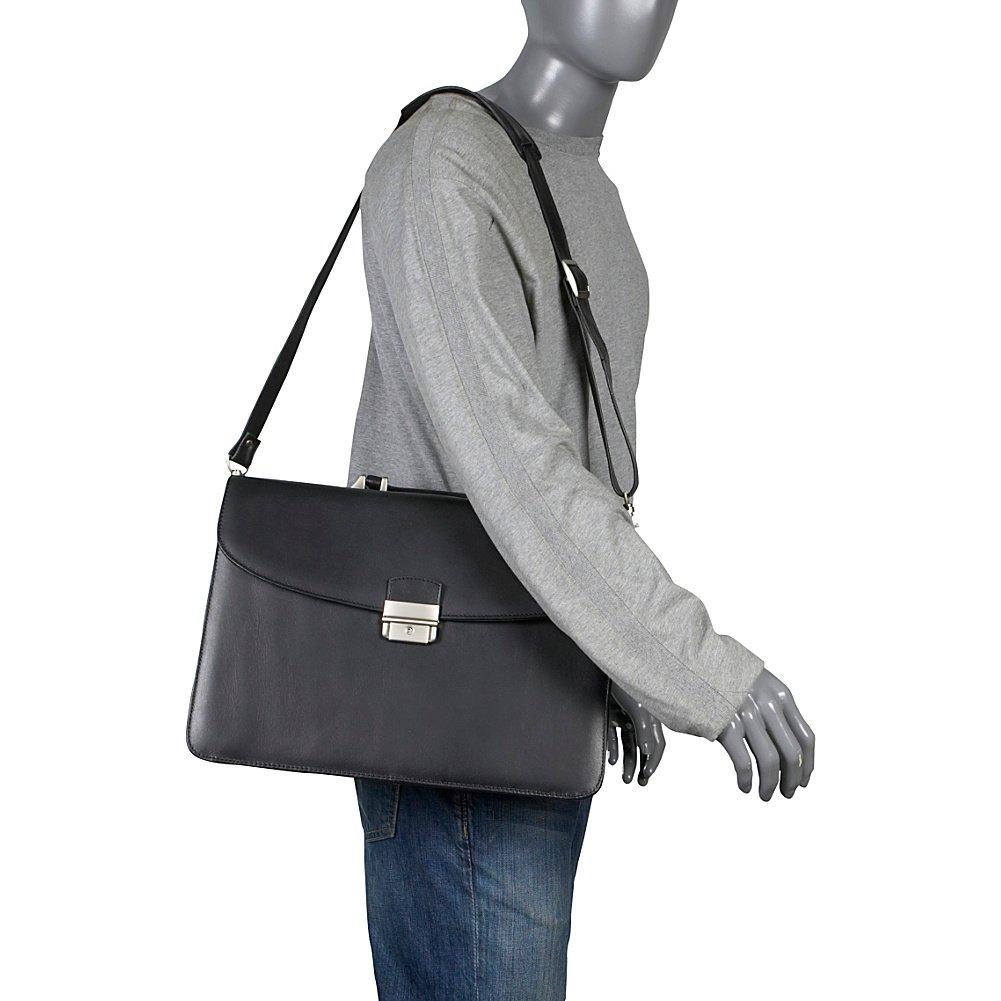 791336285000 Black AmeriLeather APC Functional Leather Executive Briefcase