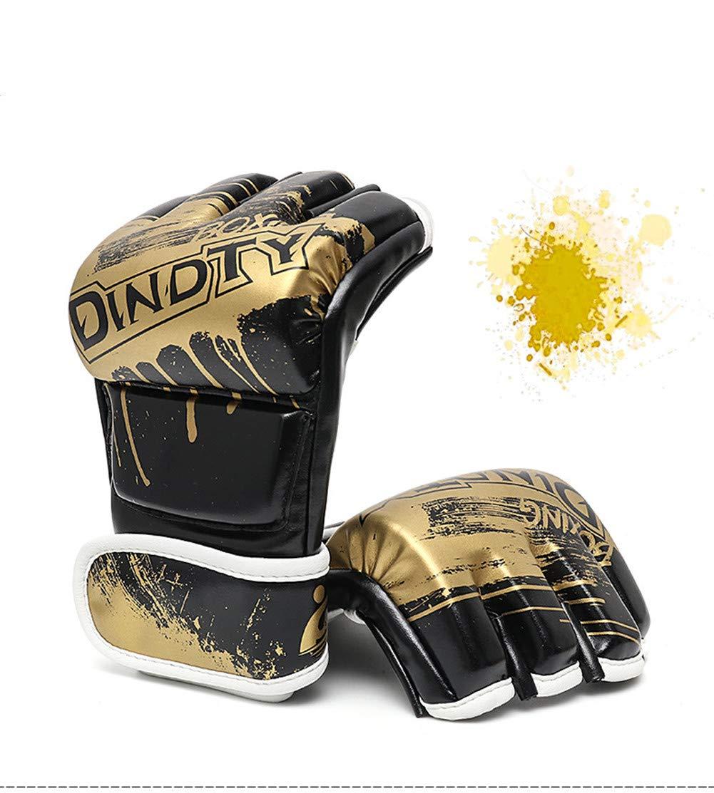 Adult Boxer Set, Fighting Sanda Guanti Da Combattimento, Sport Outdoor Attrezzature Protettive,gold