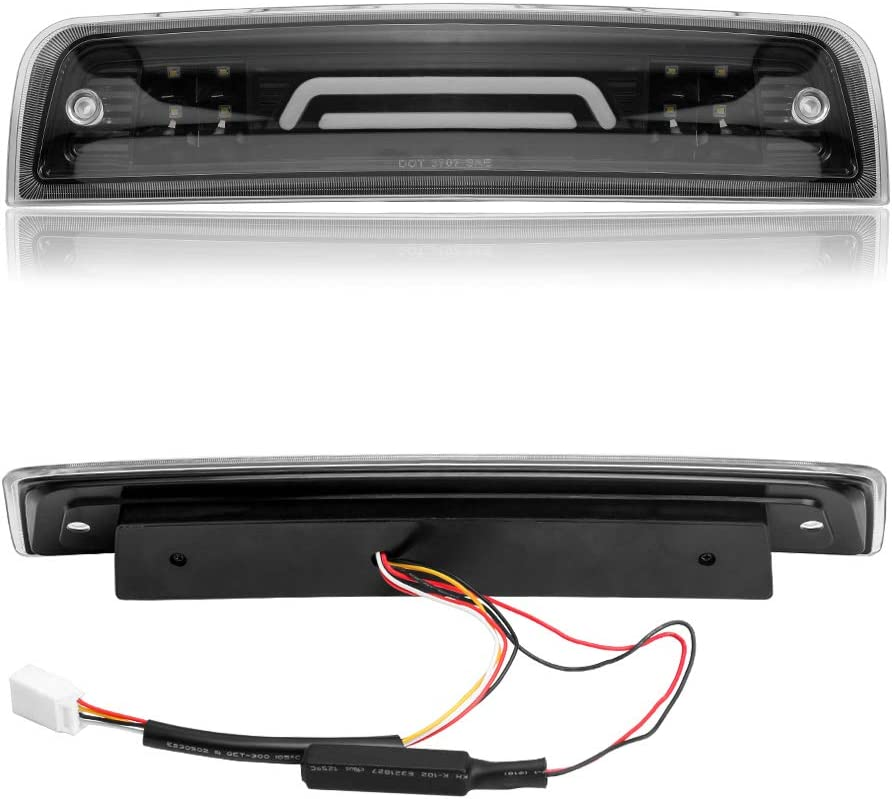 -Black 2010 International 7000 Series-LH Door Mount Spotlight 100W Halogen Driver Side with Install kit 6 inch