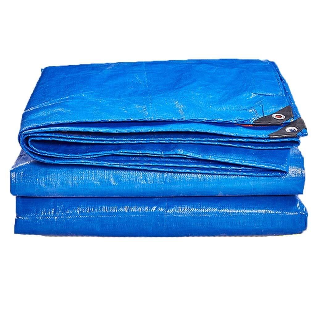 YANQ Blaue Blaue Blaue Wasserdichte leichte Plane, Dachplane-Abdeckungs-Garten-Regenschutz, Boden-Tuchstoff, kampierende Plane für Zelt winddichtes (Farbe   Blau, größe   400  500cm) B07PLHPFT9 Zeltplanen Zuverlässige Qualität 5c4be9