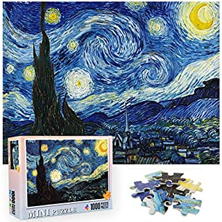 Jigsaw Puzzle, AILIFE 1000 Piece Puzzles Starry Night Puzzle for Adult and Kid, Funny Family Games, Home Decoration