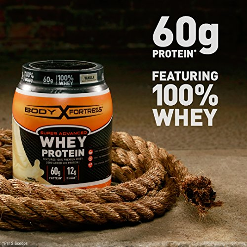 Body Fortress Super Advanced Whey Protein Powder, Great ...