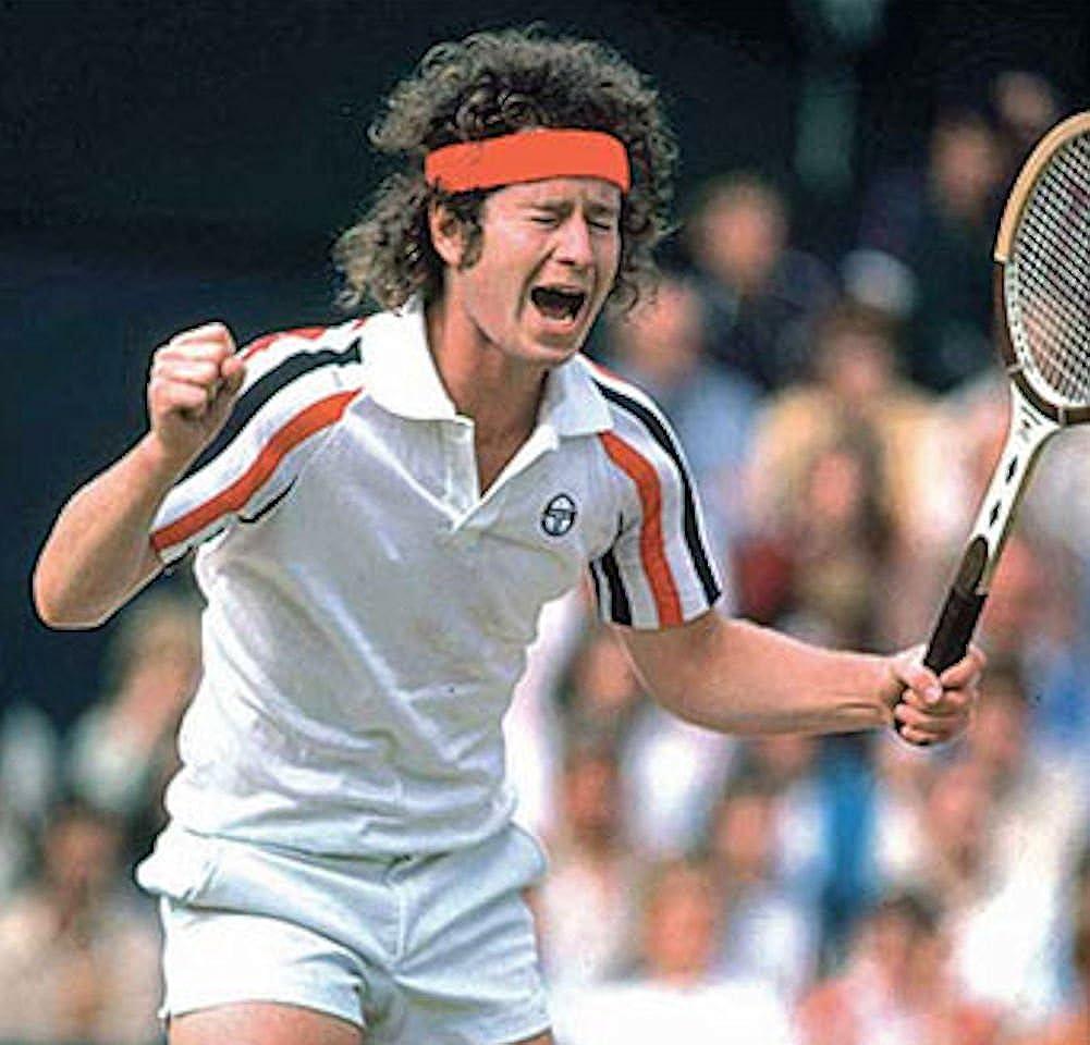 Free John McEnroe Tennis Headband. Sergio Tacchini Ghibli Track Top 2020 Ltd