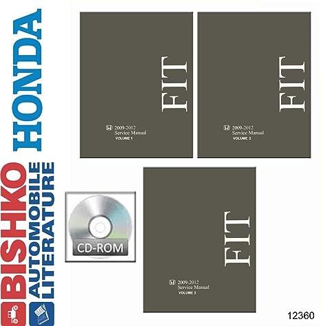 amazon com bishko automotive literature 2009 2010 2011 2012 honda rh amazon com 2015 honda fit factory service manual 2013 honda fit factory service manual