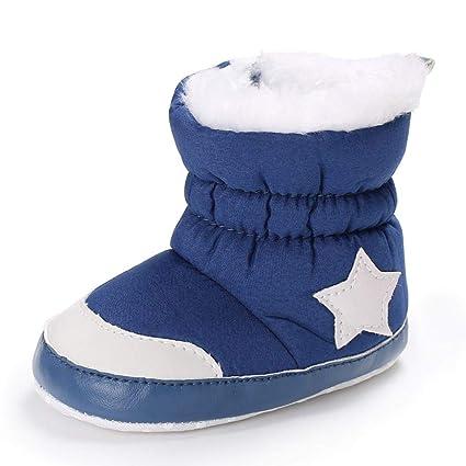 qualità superiore scarpe da corsa buona vendita KISSION Stivali da Neve Bambino,Scarpine Neonato, Anti Scivolo ...