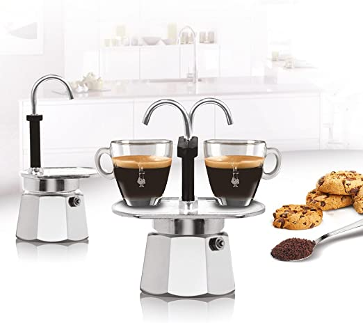 Bialetti 1281 - Cafetera Espresso Mini para 1 Taza (Aluminio): Amazon.es: Hogar