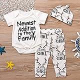 Newborn Suit For Baby Shower Deer Print Long Sleeve