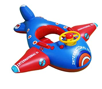 RemeeHi niños natación Anillo bebé Flotador Asiento Avión de Juguete Infantil Hinchable de natación Anillo: Amazon.es: Deportes y aire libre