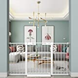 """Fairy Baby Extra Wide Baby Gate for Kids Or Pets Walk Thru Dog Gates for The House Doorway Child Safety Gate 81.89""""-84.65"""""""