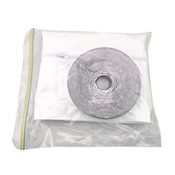 Air Conditioning Appliance Parts Air Conditioner Soft Cloth Sealing Baffle Waterproof Push-pull Window Seal Cloth Plate Sealing Window Frame Seal Cloth 4m