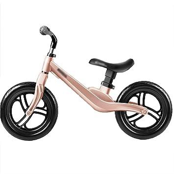 DUWEN Carro Deslizante para niños Equilibrio del Carro sin Pedal Scooter de Dos Ruedas (Color