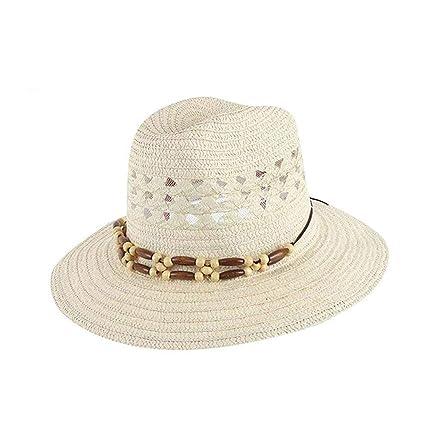 Eeayyygch Sombrero de Paja Sombrero de Sol Sombrero de Fiesta Sombrero de Sol  Sombrero Redondo Grande 23e1537b17a