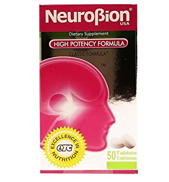 OTC Neurobion Dietary Supplement 50 units - Suplemento Multivitaminico (Pack of 18)
