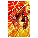 Lightning Dash -- The Flash -- Justice League -- Golf Towel (16'' x 24'')