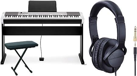 CASIO CDP 130 Juego de piano digital/soporte/panchetta ...