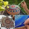 24 Pcs Mandala Dotting Tools Stencil Set for Painting Rocks Drawing & Drafting, Kids' Crafts, Nail Art, Painting