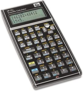 HP 35S Programmable Scientific Calculator, 14-Digit LCD