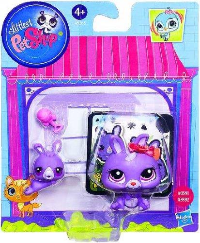 Littlest Pet Shop Figures Bunny & Baby Bunny