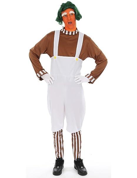 Disfraz para Adulto Trabajador Fabrica de Chocolate