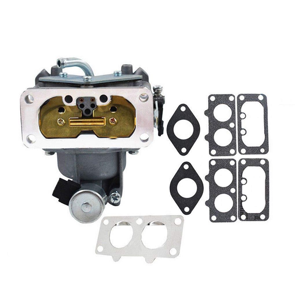 Topker Engine Carburetor Gasket Kit Replacement for Kawasaki FH641V FH661V 15004-0763 15004-7024 15004-1010