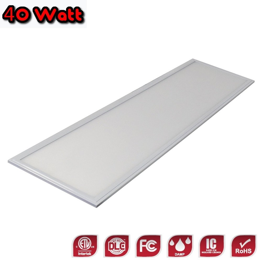 1x4 Ultra-Thin Edge-Lit Dimmable LED Flat Panel Light - 40 Watt - 3500K - 4,149 Lumens - Save on Energy Bill - DLC - Perfect for Professional or Residential Needs - 5 YR Warranty