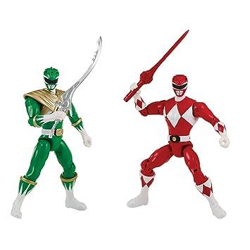 Power Rangers - 2 Pack de 2 Figuras 12 cm Rojo vs Ranger ...
