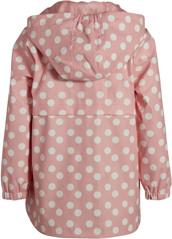 Urban Republic Girls Zip Up Waterproof Raincoat Jacket with Hood