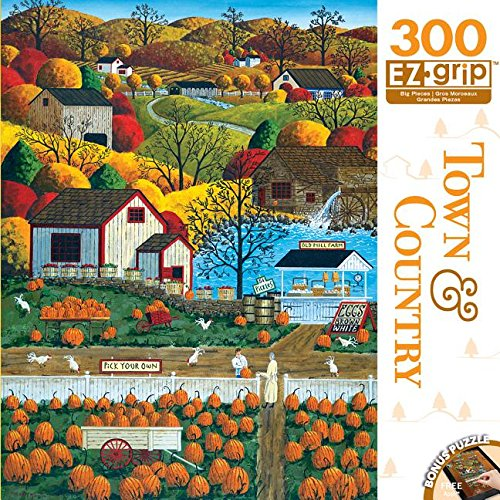 Masterpieces Town & Country EZ Grip Autumn Morning Puzzle (300 Piece)