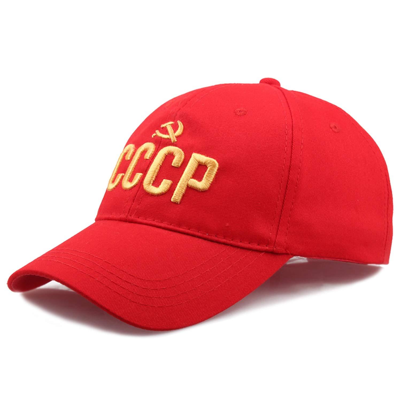 HYID Powerful Russian Letter Snapback Cap 100/% Cotton Baseball Cap for Adult Men Women Dad Hat Bone Garros