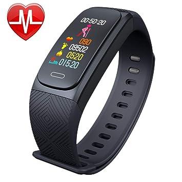 Amazon.com: Smagear Fitness Tracker GPS Pulsera deportiva ...
