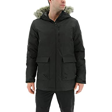 f46ff5d6786f Image Unavailable. Image not available for. Color: adidas outdoor Men's  Xploric Parka Black Medium