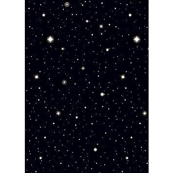 TOYS Décoration Murale Étoile Papier Peint Ciel de Nuit